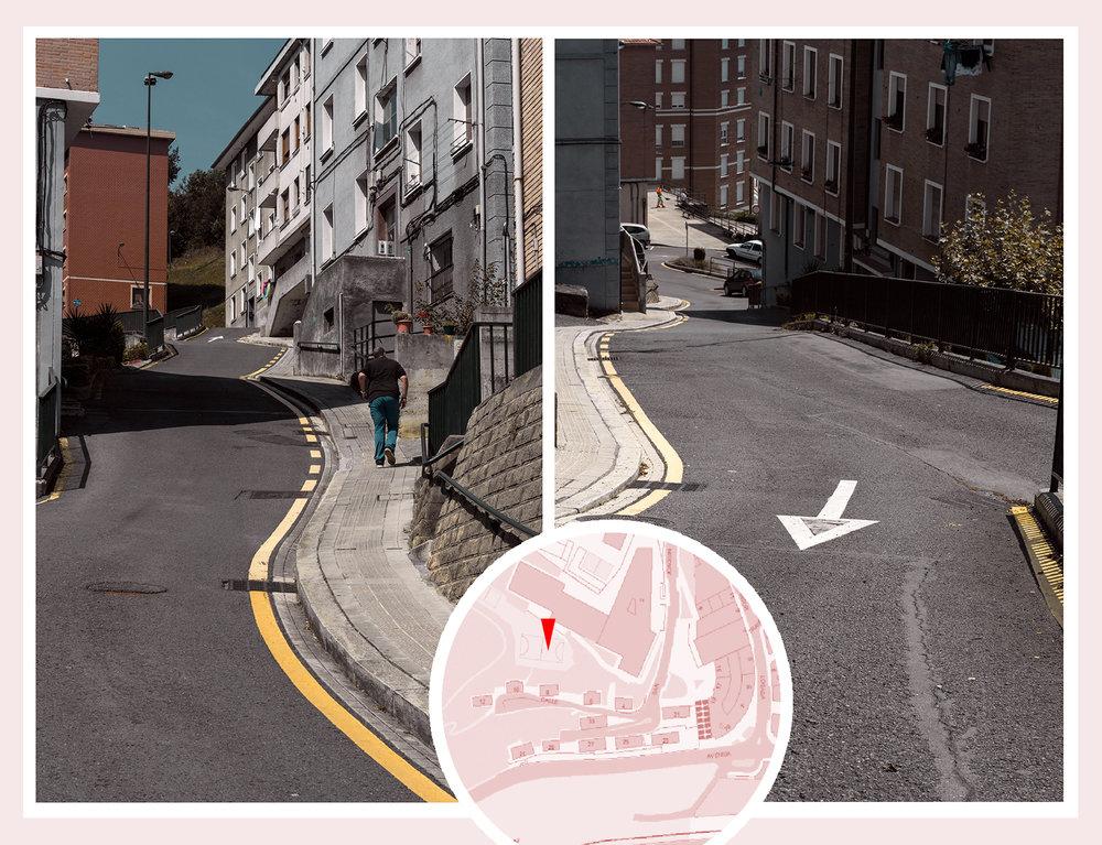 Acceso por la Calle San Joaquín:DESDE ABAJO, O DESDE ARRIBA...Suban!! Suban!!... Bajen!! Bajen!!...