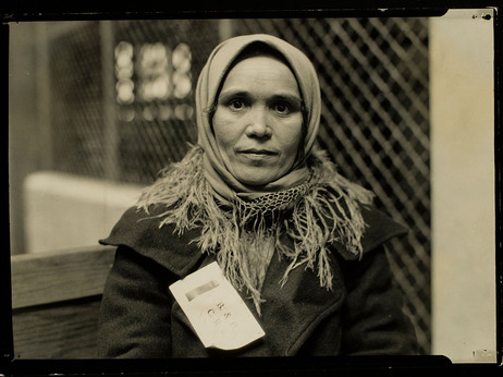 'Immigrant, Ellis Island', 1905 HINE Lewis