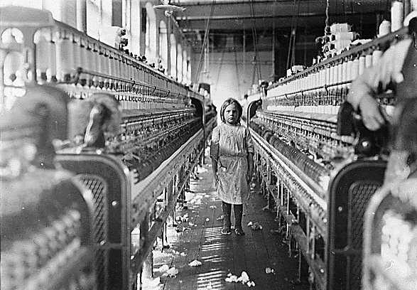 Lewis W. Hine  New England Mill,