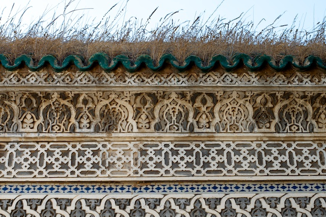 Detail of a building at an old Muslim cemetery