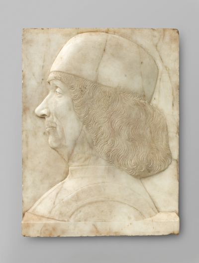 Tullio 1 Lombardo (around 1500)  Portrait of Bellini . [sculpture] [online image]. Amsterdam: Rijksmuseum. Available from:  https://www.rijksmuseum.nl/nl/search/objecten?q=Gentile+Bellini&s=achronologic&p=1&ps=12&ii=1#/BK-16976,1  [Accessed 7 November 2013].