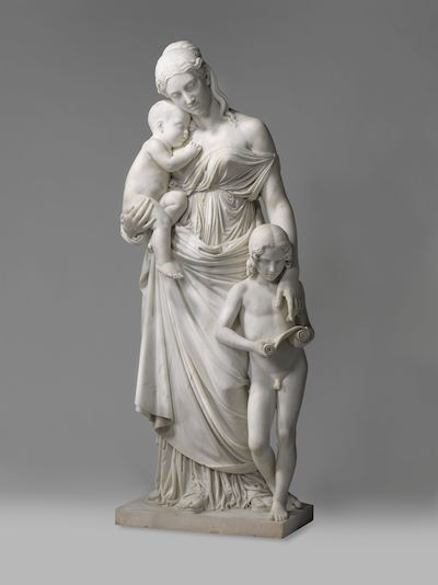 Lorenzo Bartolini (1842 - 1845)  Carita educatrice   [sculpture] [online image]. Amsterdam: Rijksmuseum. Available from:  https://www.rijksmuseum.nl/nl/search/objecten?q=Educatrice&s=achronologic&p=1&ps=12&ii=0#/BK-2008-5-A,0  [Accessed 7 November 2013]