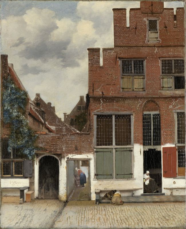 Jan Vermeer (1658),  The Little Street  [oil on canvas] [online image]. Amsterdam: Rijksmuseum. Available from: http://hdl.handle.net/10934/RM0001.COLLECT.6419. (Accessed on 6 January 2014)