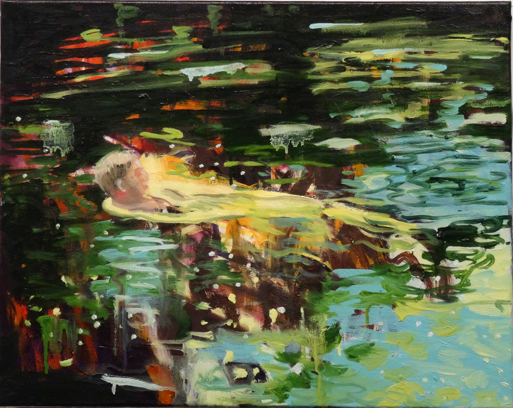 Afloat in the River Inne (study)