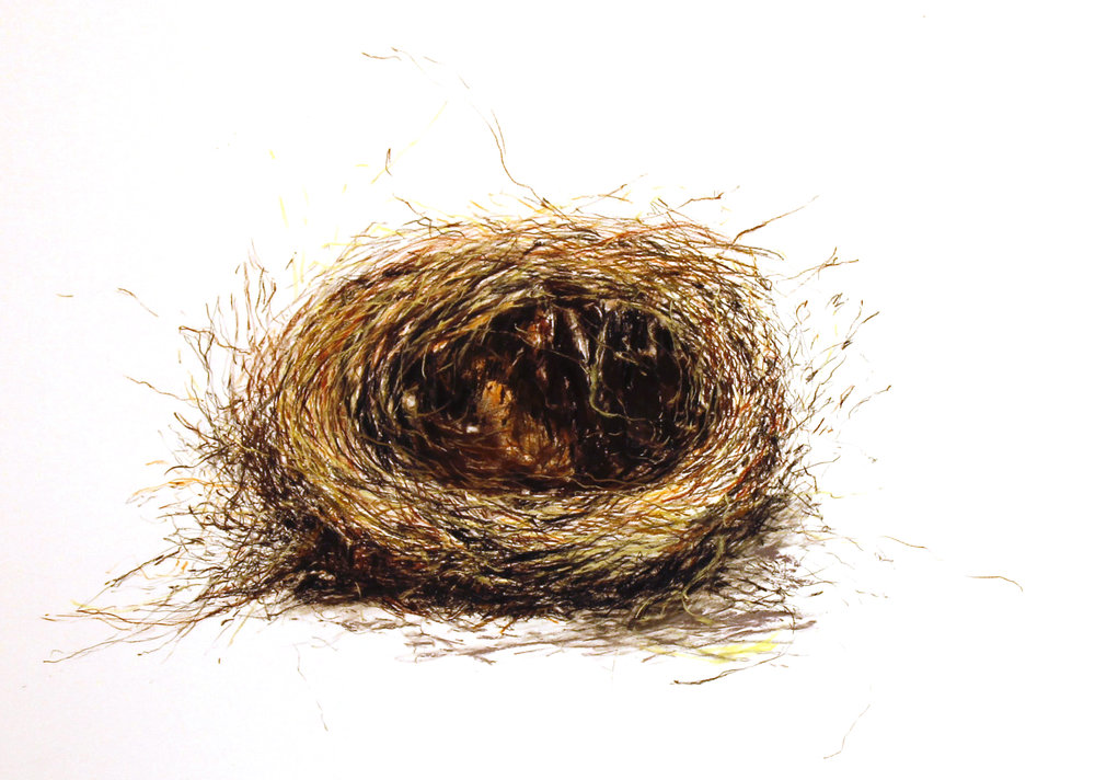 Single unravelling nest
