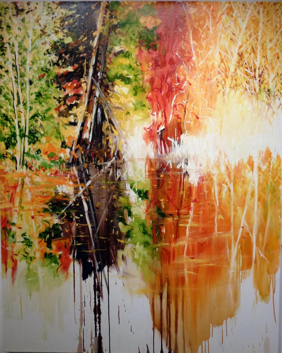Autumn at Whyte Lake