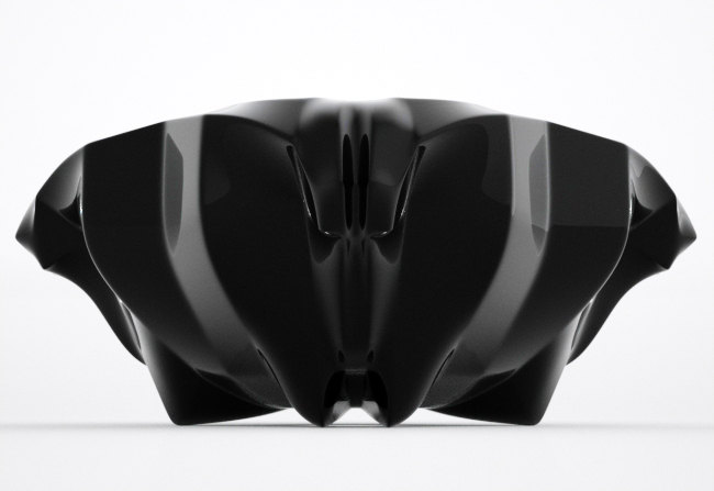 example from the author's portfolio / simple sculptural design / bowl
