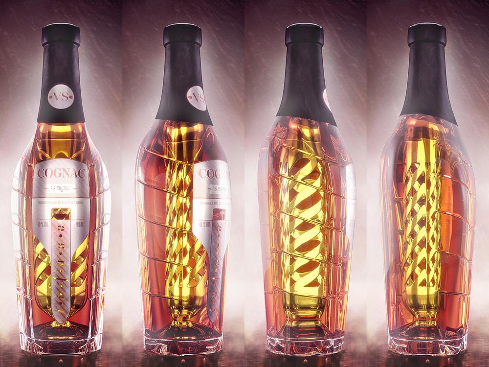 Cognac Infusion beverage concept 3