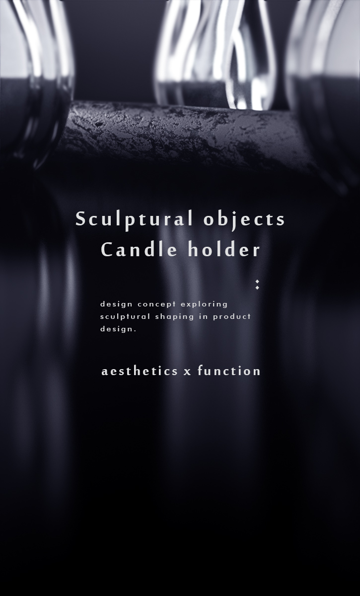 Luxury Candle Holder concept 1