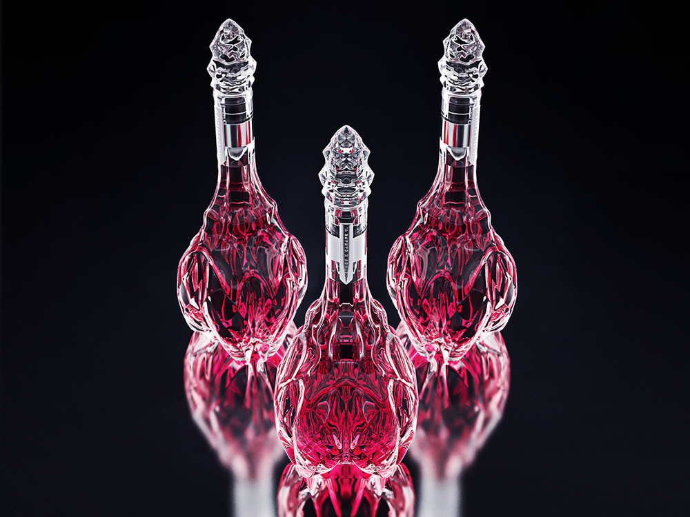 luxury crystal wine decanter 3