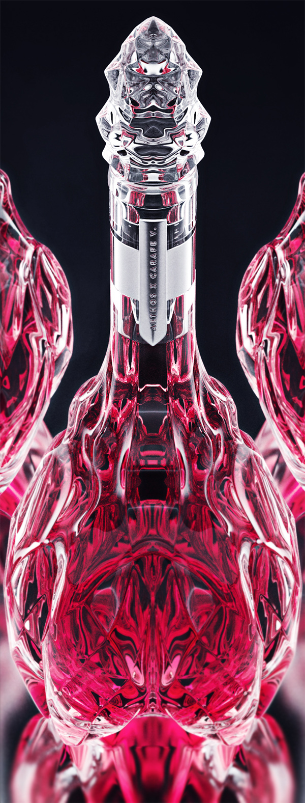 luxury crystal wine decanter 5