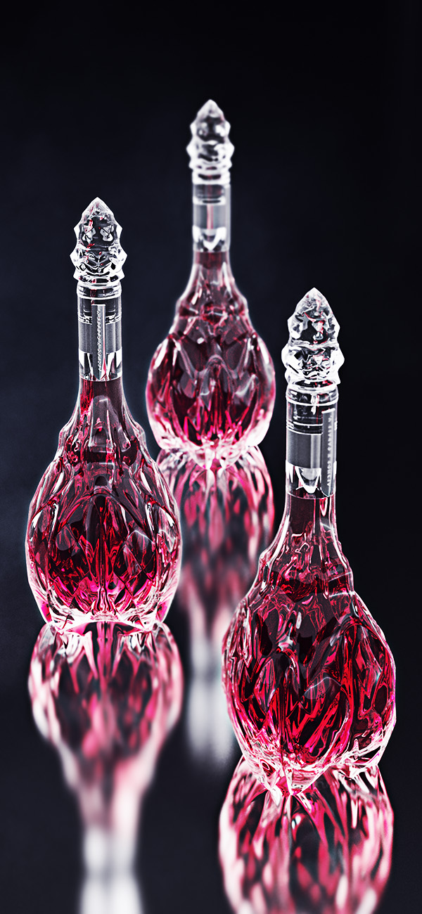 luxury crystal wine decanter 6