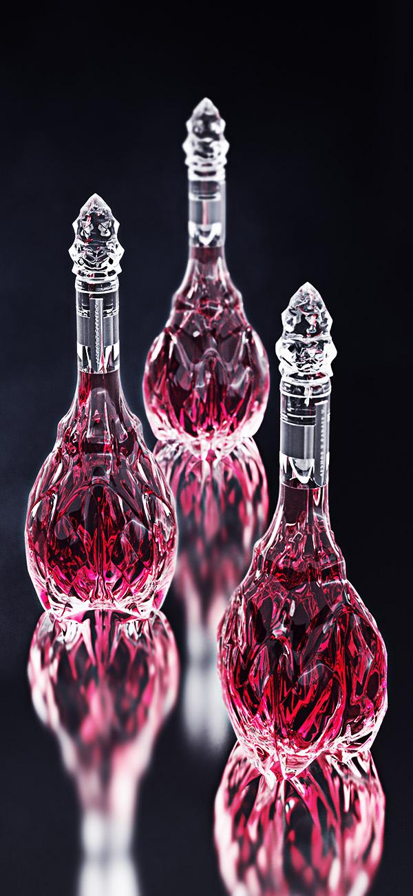 luxury crystal wine decanter 6
