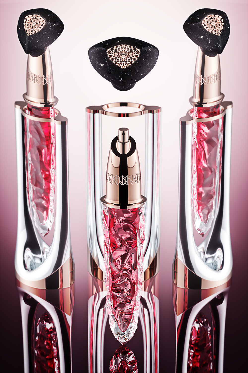 Luxury perfume vial concept Shard 4