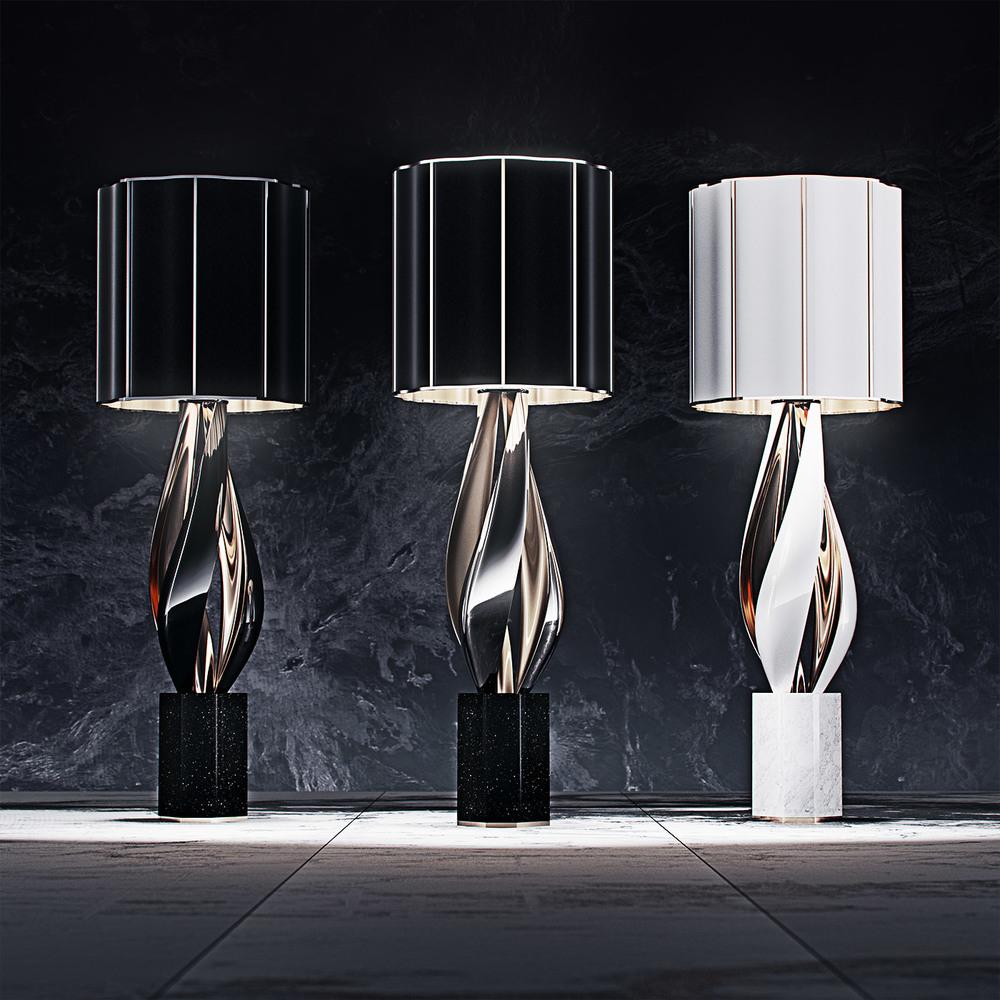 luxury lighting concept, Nightshade Lamp 4