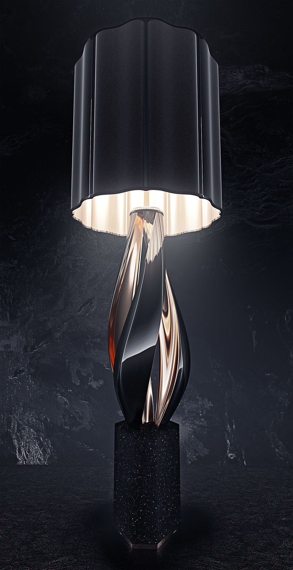 luxury lighting concept, Nightshade Lamp 5