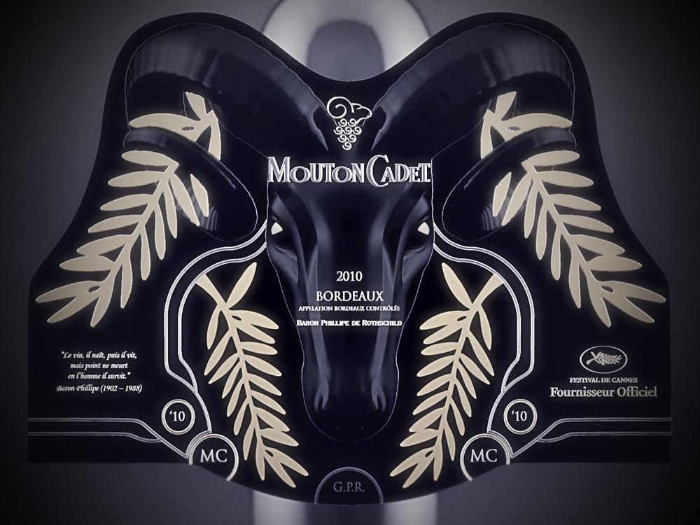 mouton cadet label