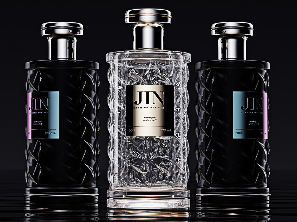 Gin Jin, premium gin packaging 2.jpg