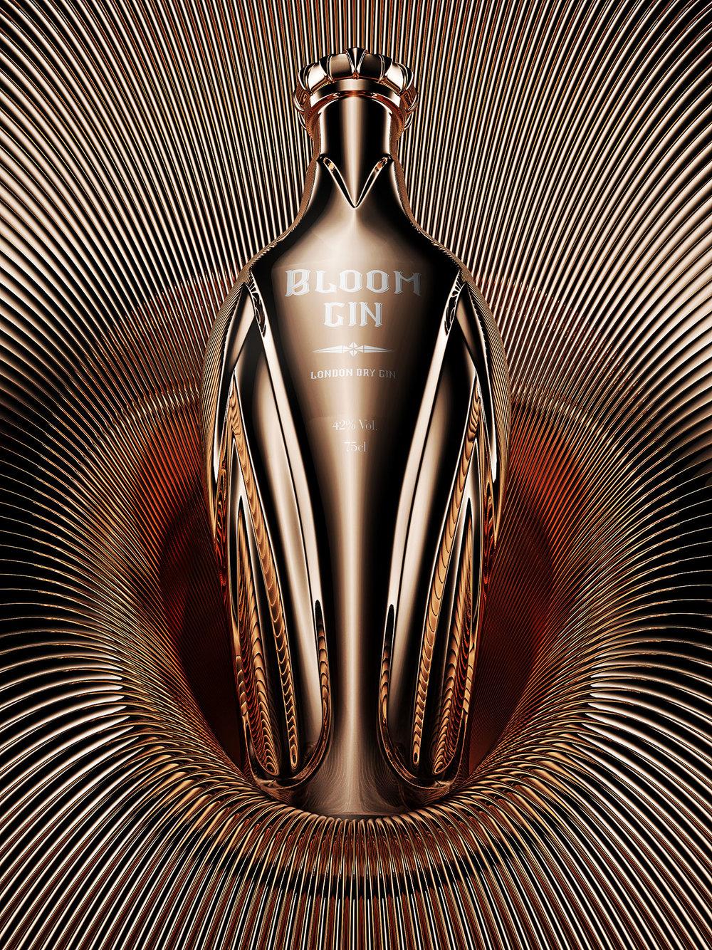 Bloom Gin, premium gin concept