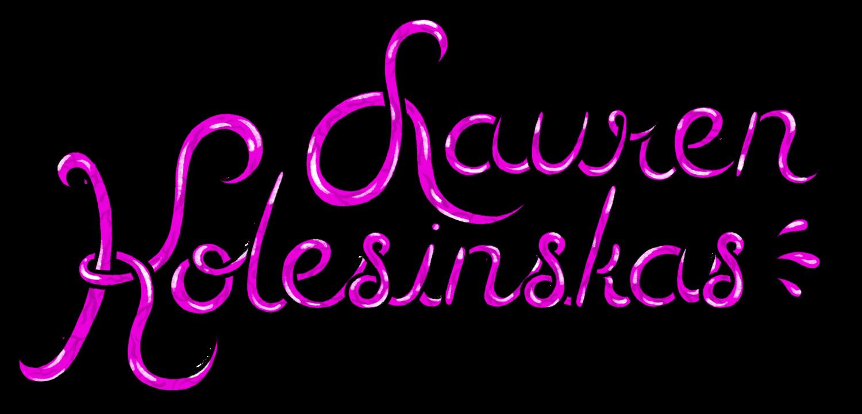 Web portfolio for Lauren Kolesinskas, a Brooklyn, NY based illustrator.