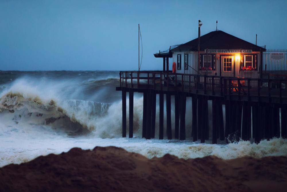 Ocean Grove Fishing Pier 10/28/12