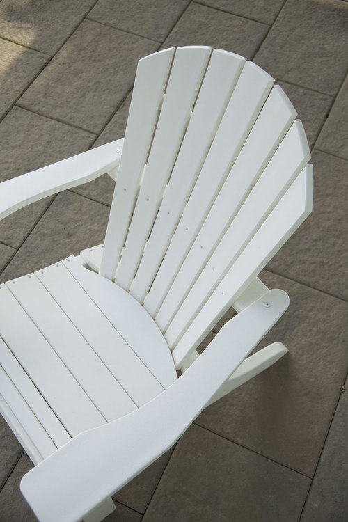 POLYWOOD OUTDOORS' FANTASTIC SELECTION OF WHITE OUTDOOR FURNITURE - White Outdoors Garden Furniture & Chairs