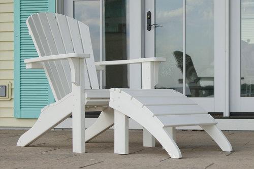 outdoor furniture white. Seashell Outdoor Furniture White