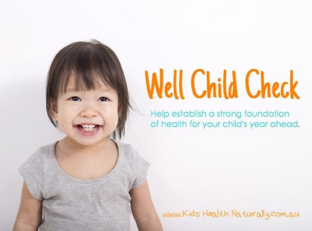 A Well Child Check is an appointment that offers you the opportunity to take stock of your child's health and make sure they are on track to fulfil their potential. More details on my website (link in bio). Book in today!