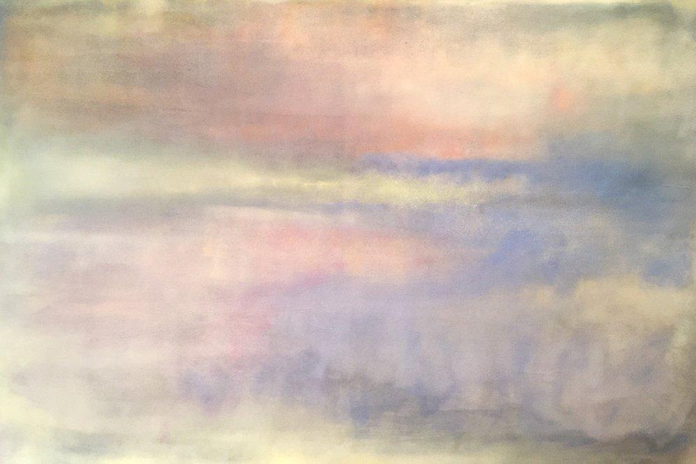 Keremet 2   122 x 182 cm  Acrylic, oil on canvas