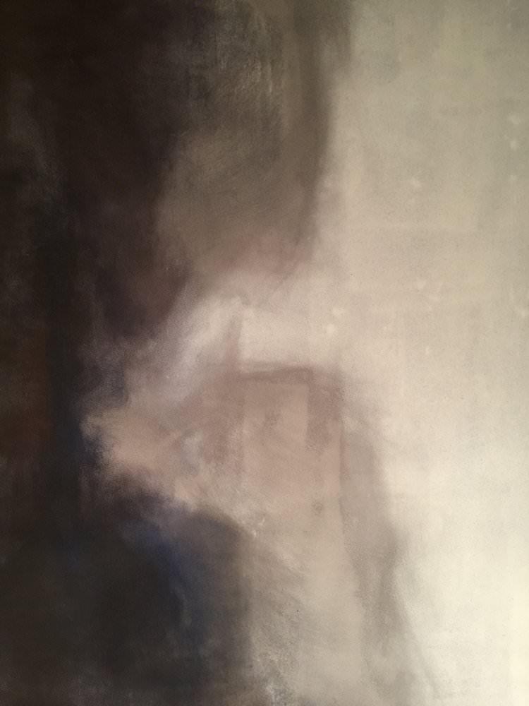 Tunde     120 x 180 cm    Acrylic, oil on canvas