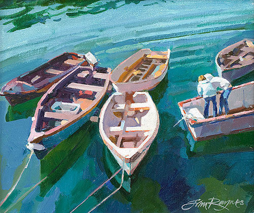 Boats at Portscatho