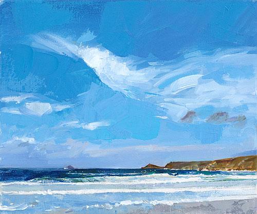 Blue Sky, Sennen