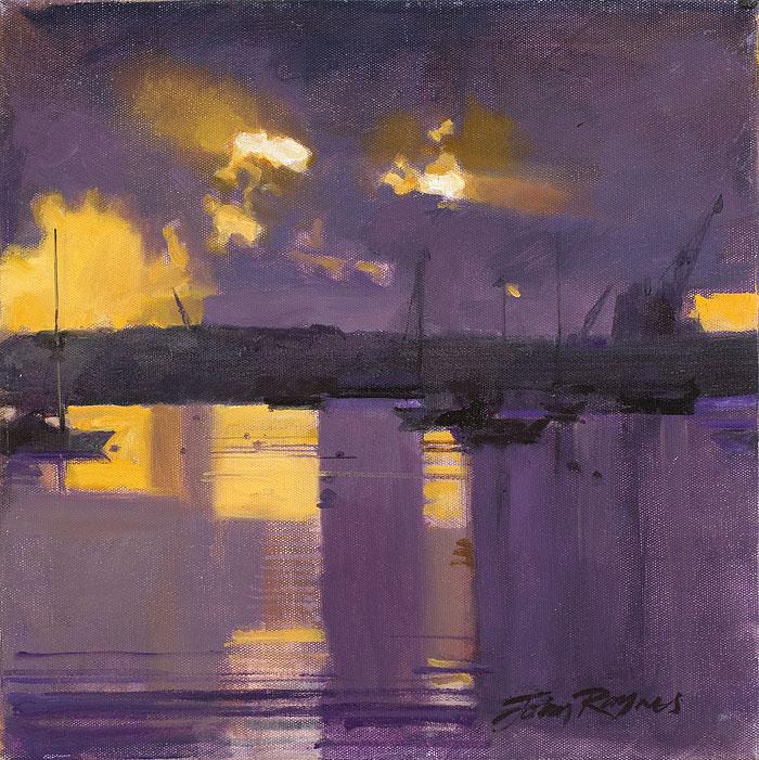 Dawn, Falmouth Docks Study II
