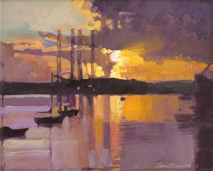 Dawn, Falmouth Docks Study III