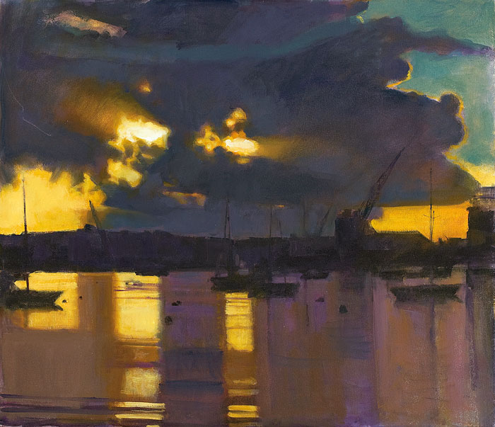 Dawn, Falmouth Docks II