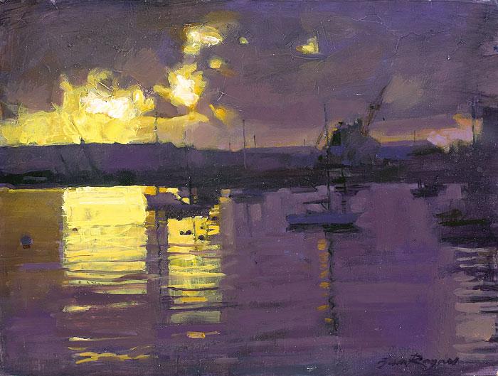 Dawn, Falmouth Docks IV