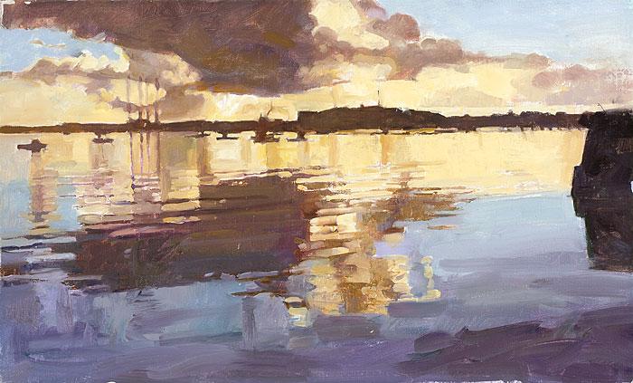 Dawn, Falmouth Docks V
