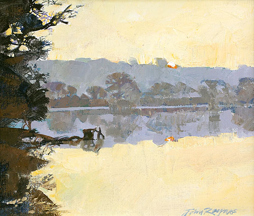 Dawn near Perran Wharf, River Kennal
