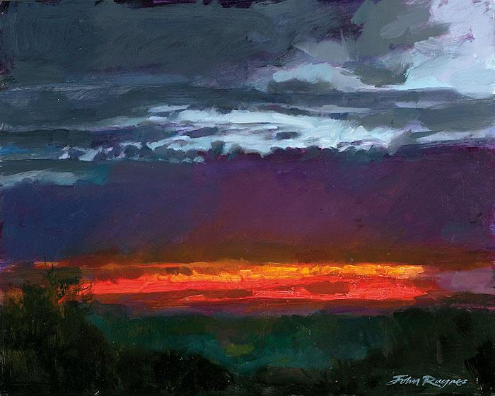 Dawn over Bodmin Moor