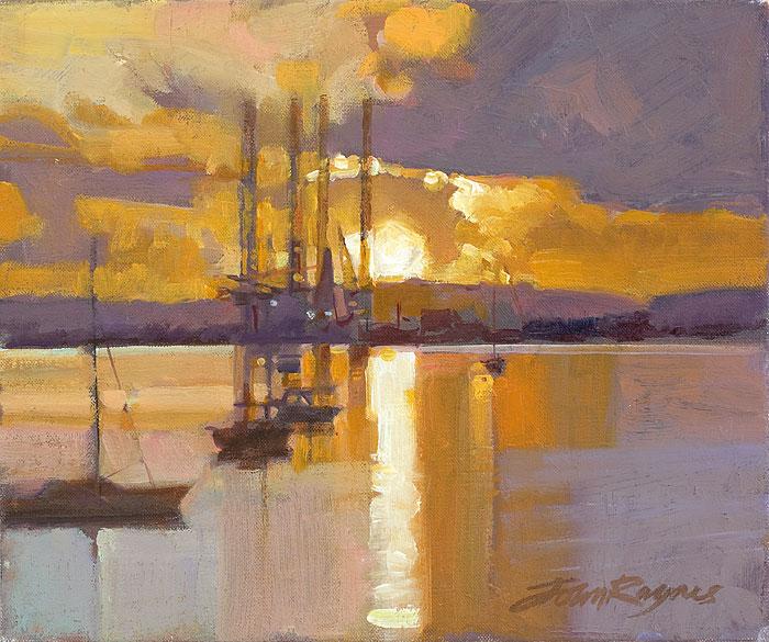 Falmouth Docks Study I