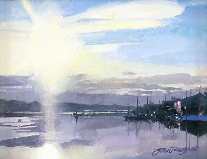 From Penryn Quay, Low Sun
