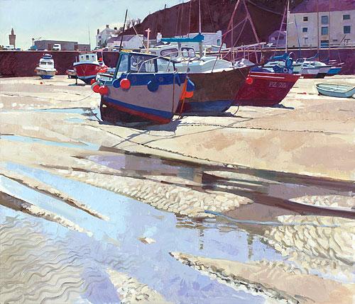 Porthleven, Fishing Boats