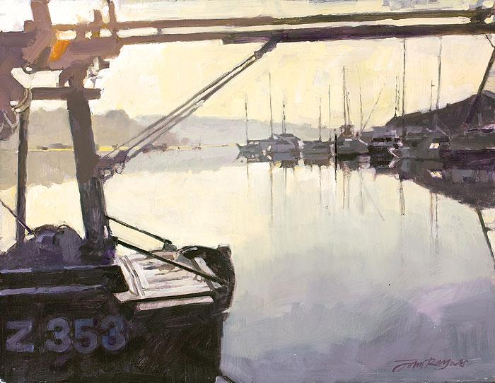 Soon after Dawn, Penryn Quay
