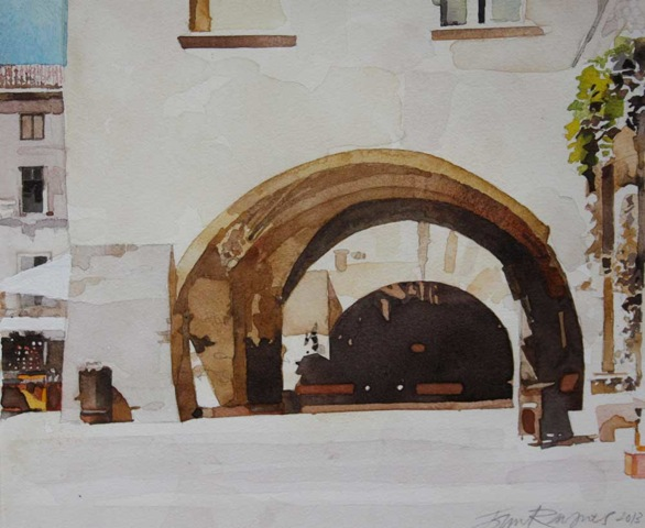 Arches, Uzes. Study