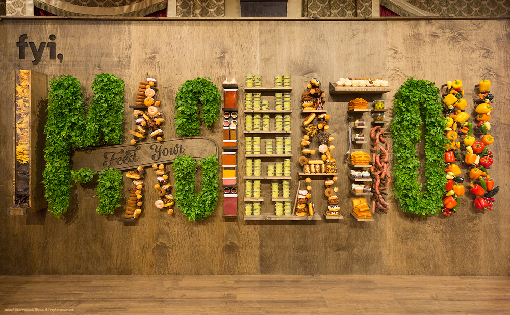 Food Typography + FYI for SXSW