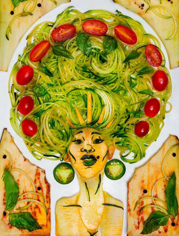Grlsquash Food Illustration Editorial
