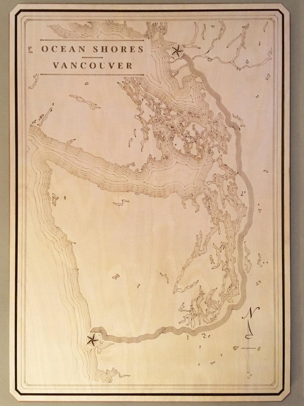 Vancouver to Ocean Shores