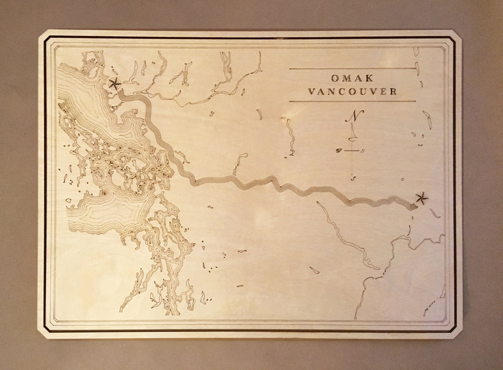 Omak to Vancouver
