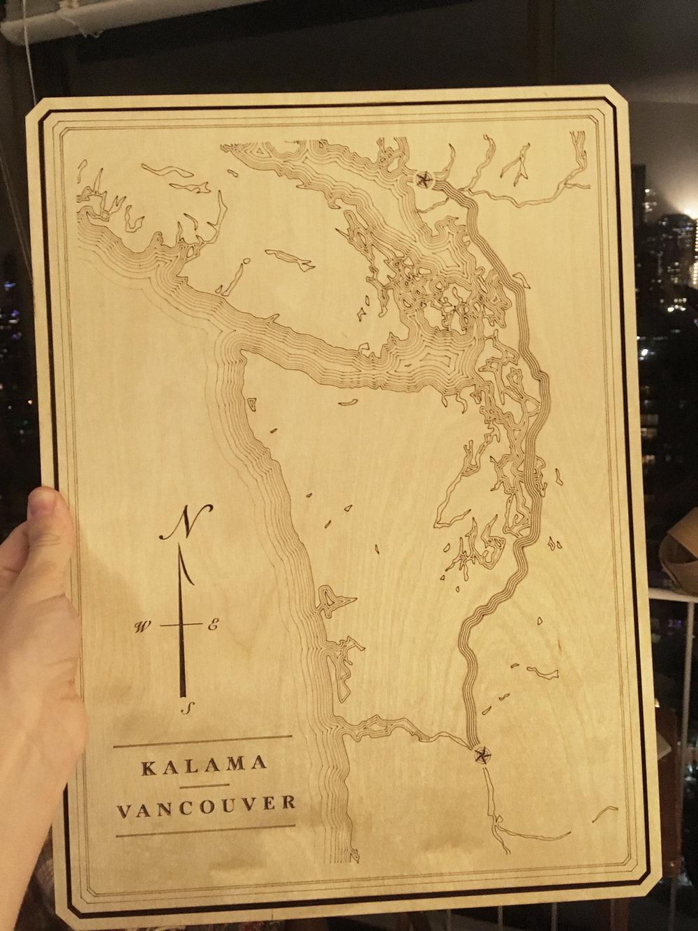Kalama to Vancouver