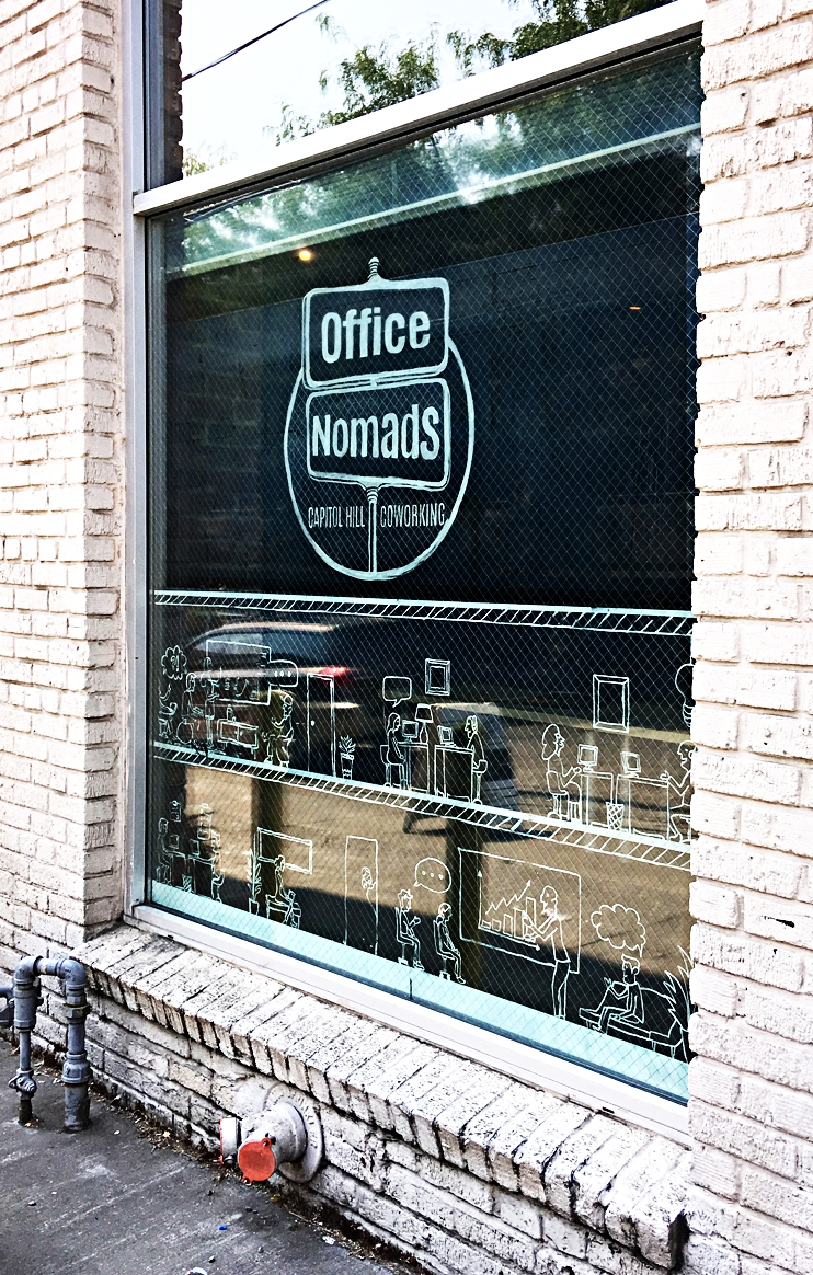 O    ffice Nomads, Capitol Hill Coworking    Coworking Community Design